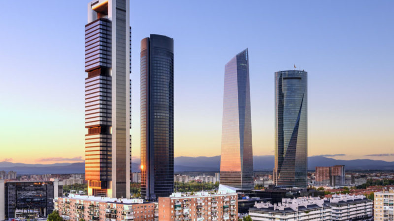 Espagne : Contraction du parc d'entreprises